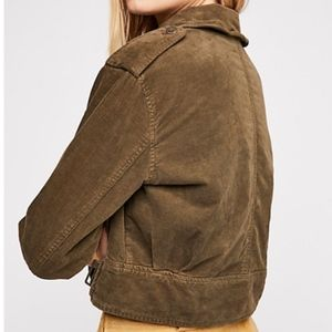 Free People Jackets & Coats - NWT Free People Everlyn Jacket Size Medium Moss